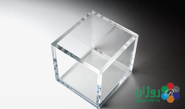 نمونه کاربرد طلق شیشه ای .